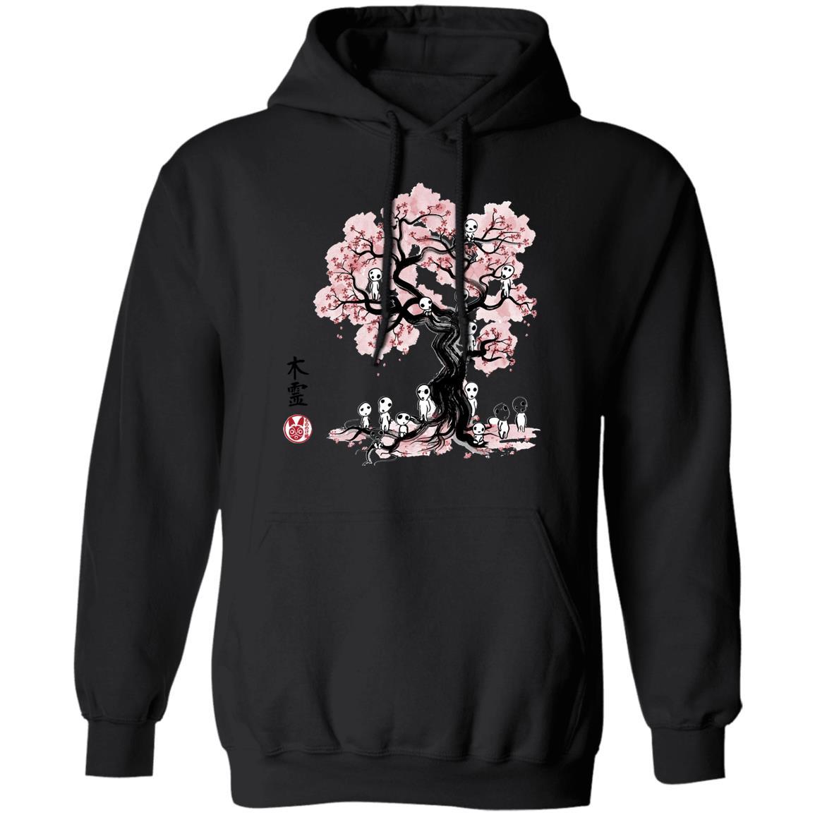 Tree Spirits under the Sakura Hoodie