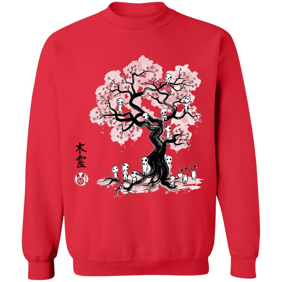 Tree Spirits under the Sakura Sweatshirt
