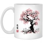Tree Spirits under the Sakura Mug 11Oz