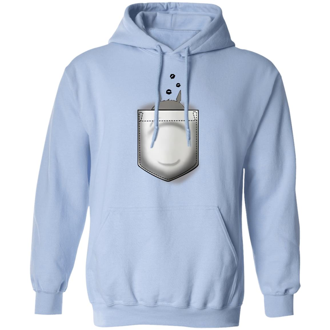 Totoro and Soot Balls in Pocket Hoodie