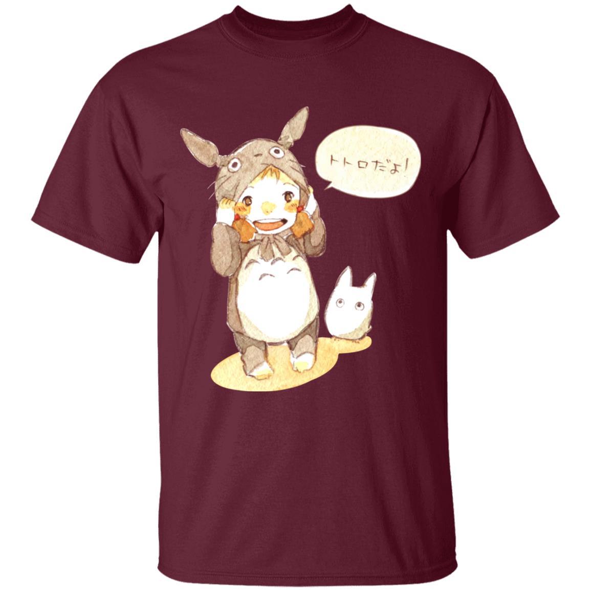 Baby Cosplay Totoro Korean Art T Shirt