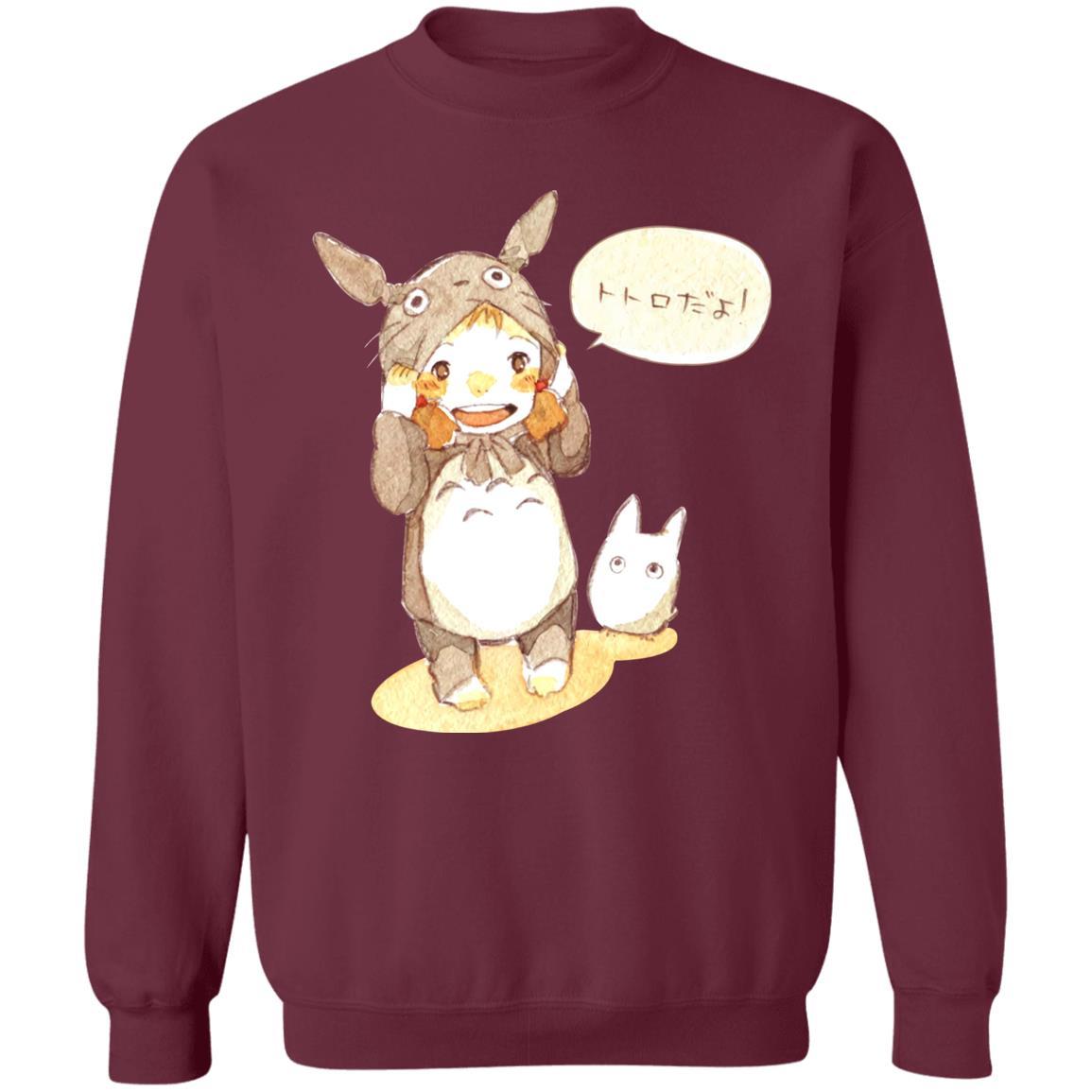 Baby Cosplay Totoro Korean Art Sweatshirt
