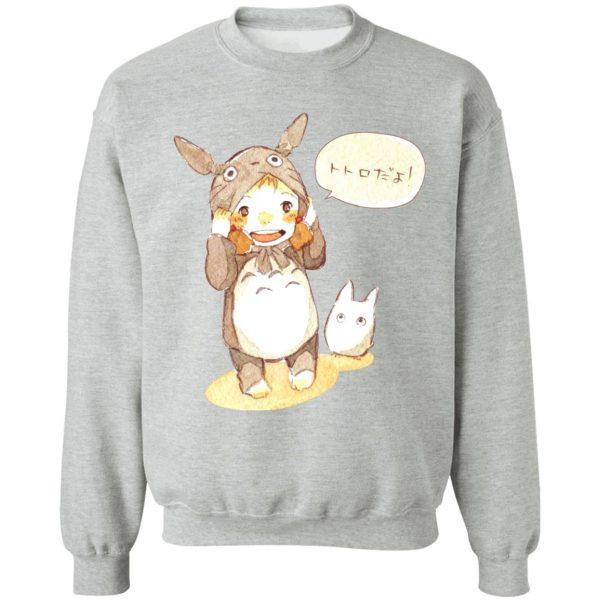 Baby Cosplay Totoro Korean Art Hoodie