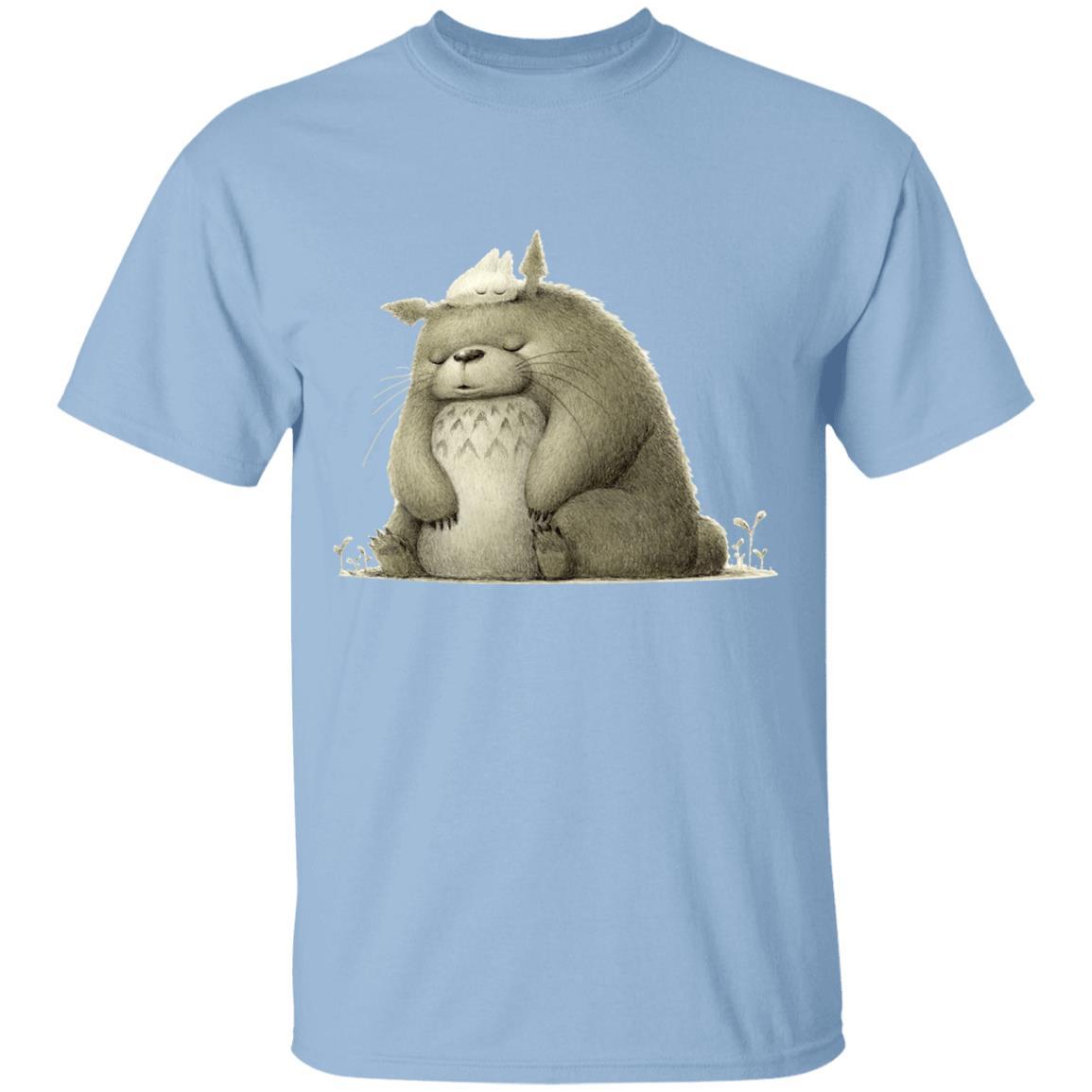 The Fluffy Totoro T Shirt