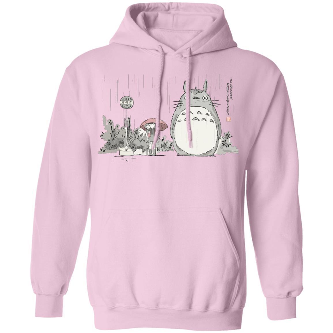 Totoro At The Bus Stop Hoodie