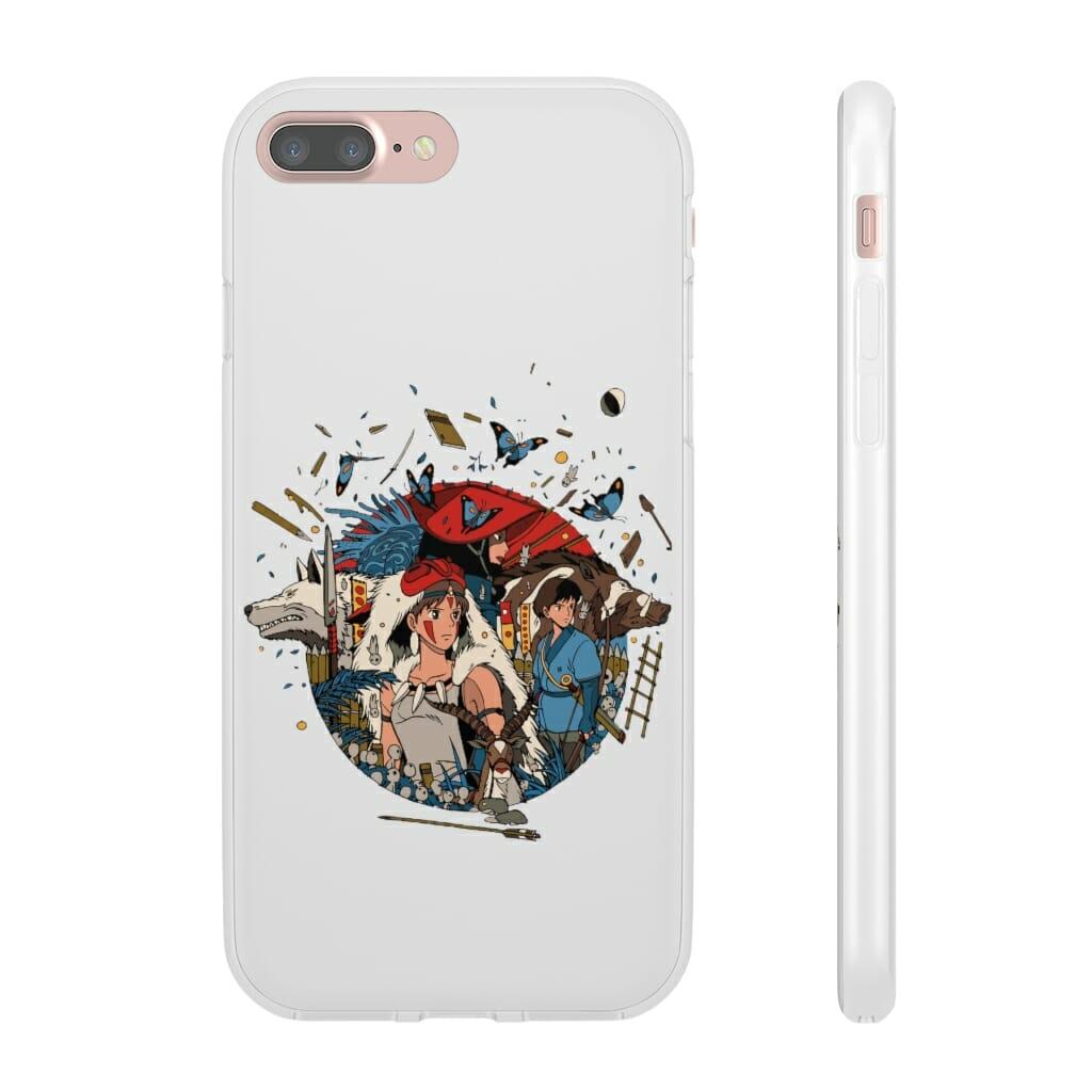 Princess Mononoke Kokyo iPhone Cases