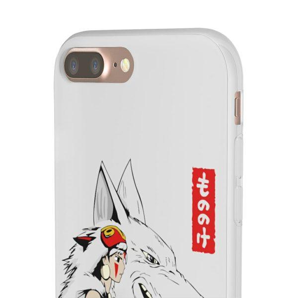 Princess Mononoke – San and The Wolf iPhone Cases