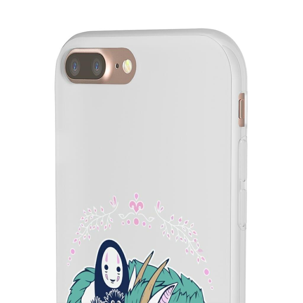 Spirited Away – No Face and Haku Dragon iPhone Cases