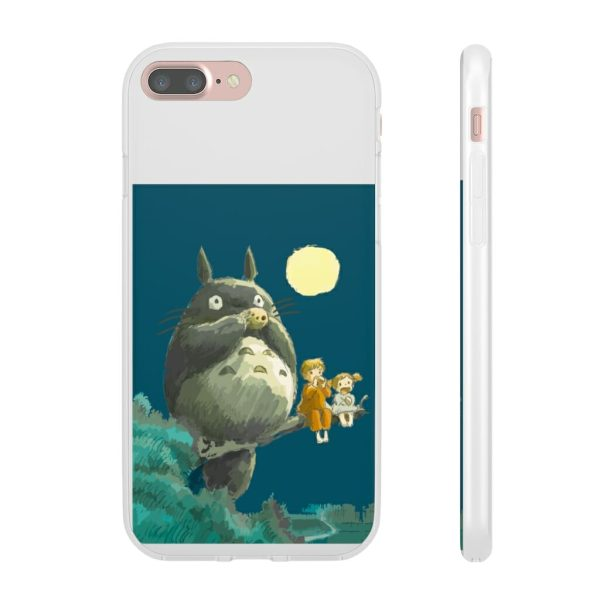 My Neighbor Totoro by the moon iPhone Cases