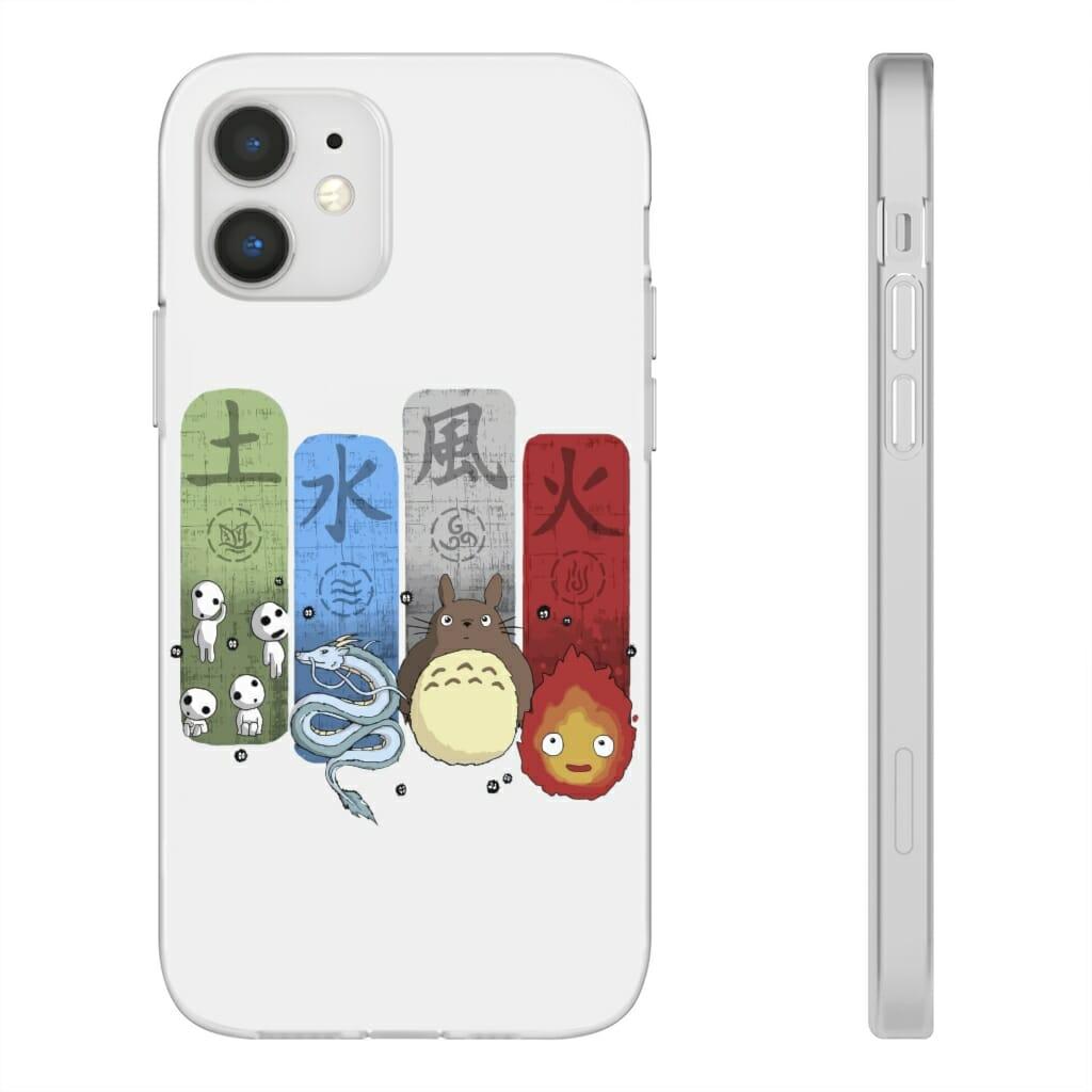 Ghibli Elemental iPhone Cases