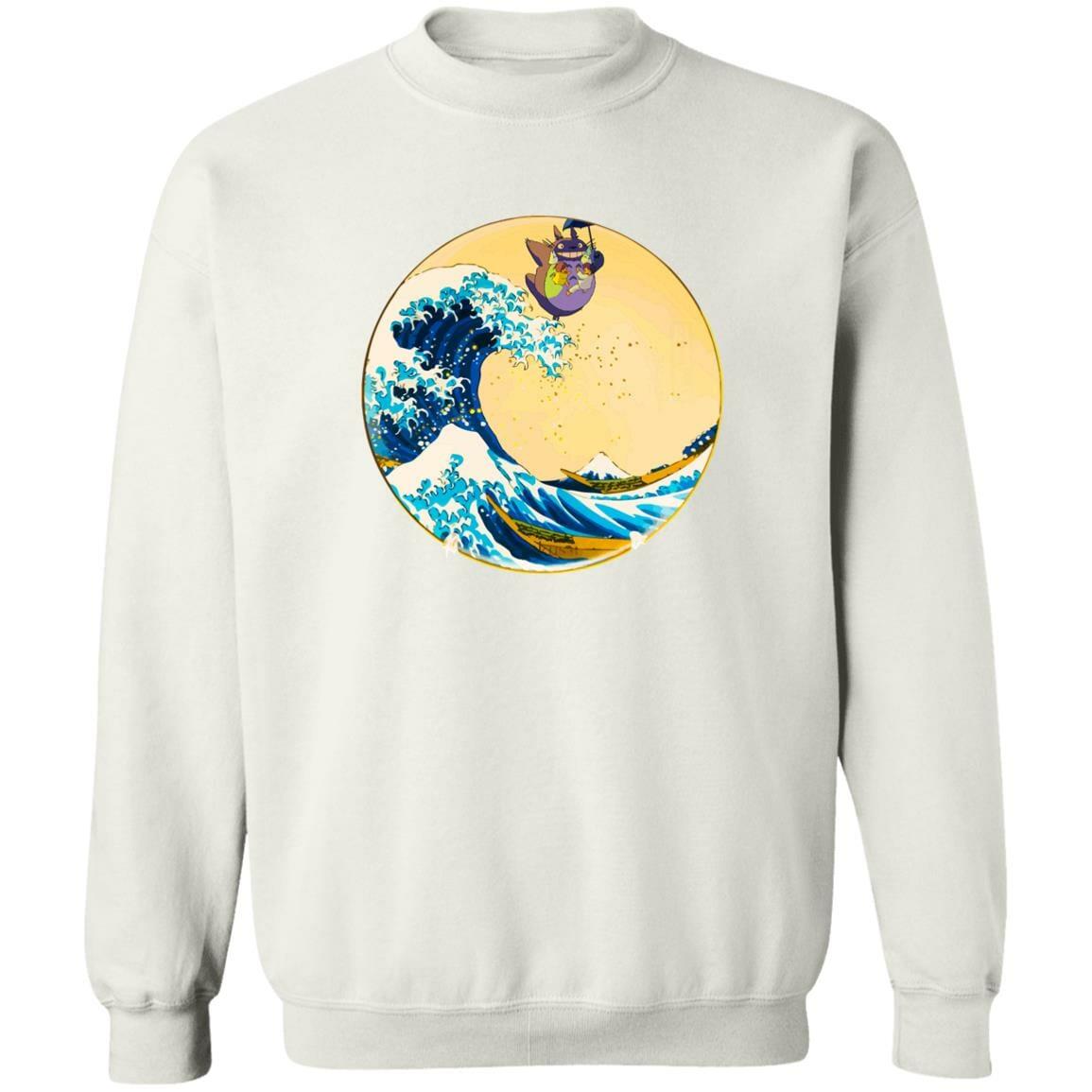 Totoro On The Waves Sweatshirt Unisex