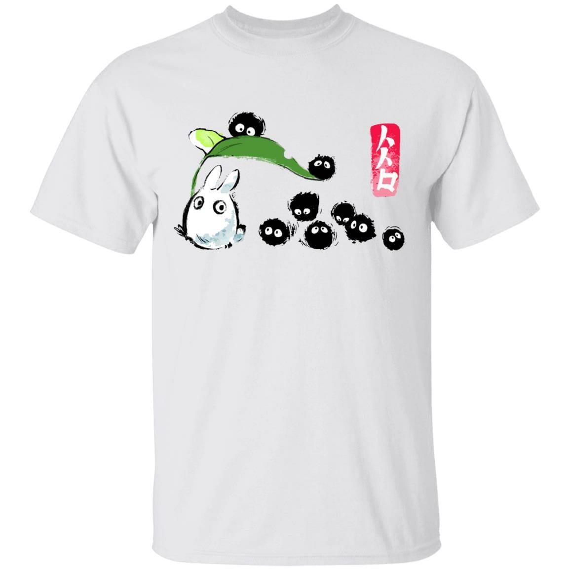Mini Totoro and the Soot Balls T Shirt