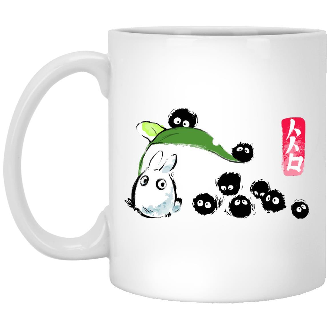 Mini Totoro and the Soot Balls Mug