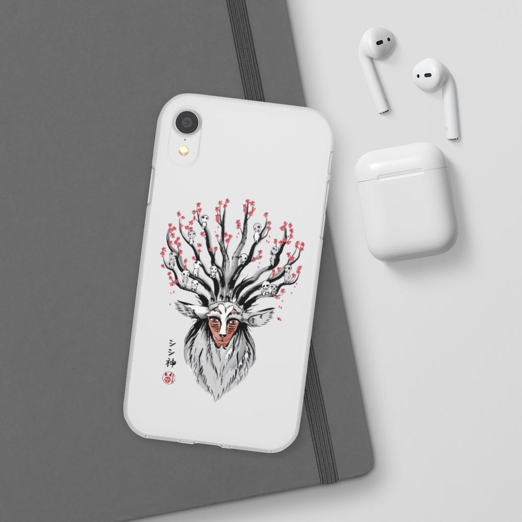 Princess Mononoke – Shishigami and Sakura iPhone Cases