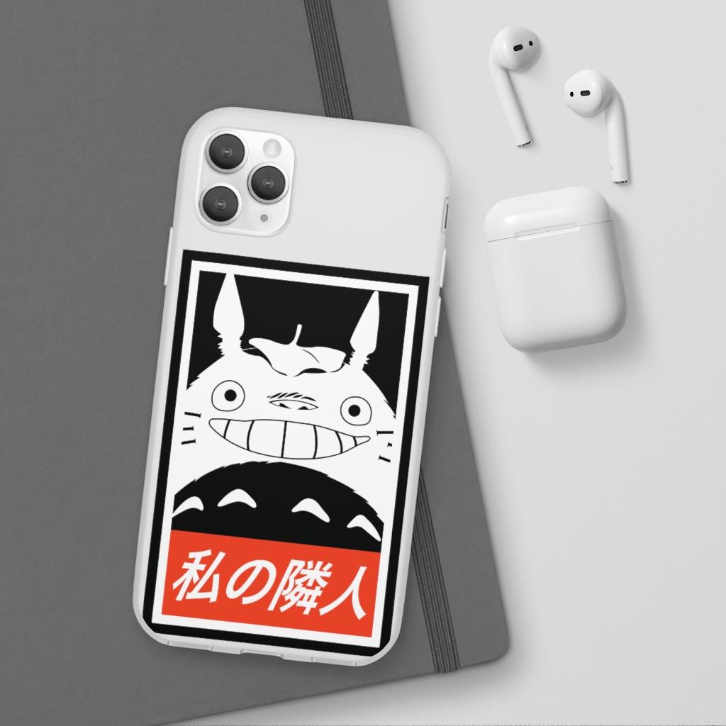 Smiling Totoro iPhone Cases