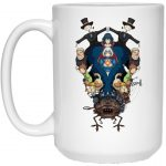 Howl's Moving Castle Characters Mirror Mug 15Oz