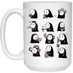 Cute No Face Kaonashi Collection Mug 15Oz