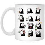 Cute No Face Kaonashi Collection Mug 11Oz