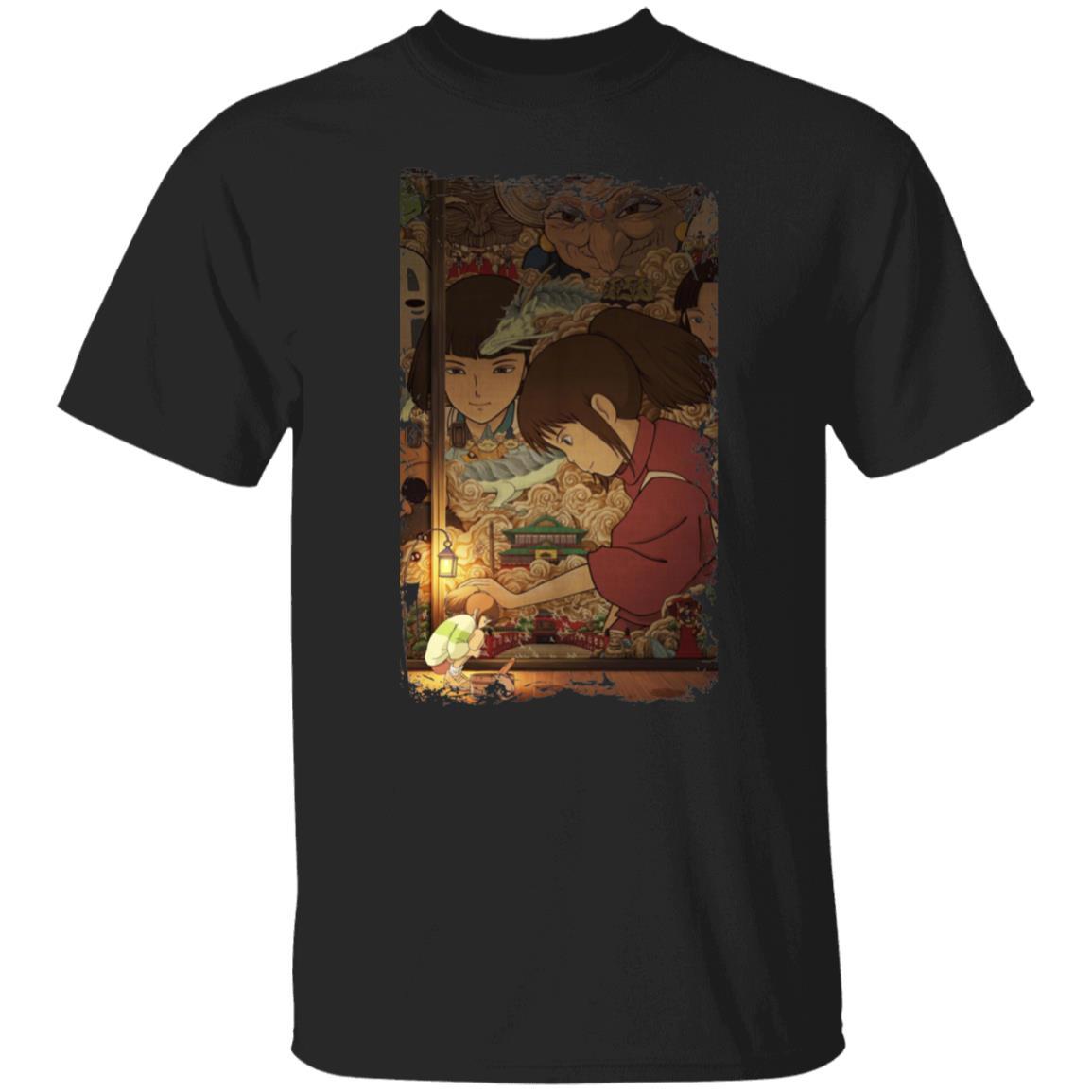 Spirited Away Movie China Poster T Shirt