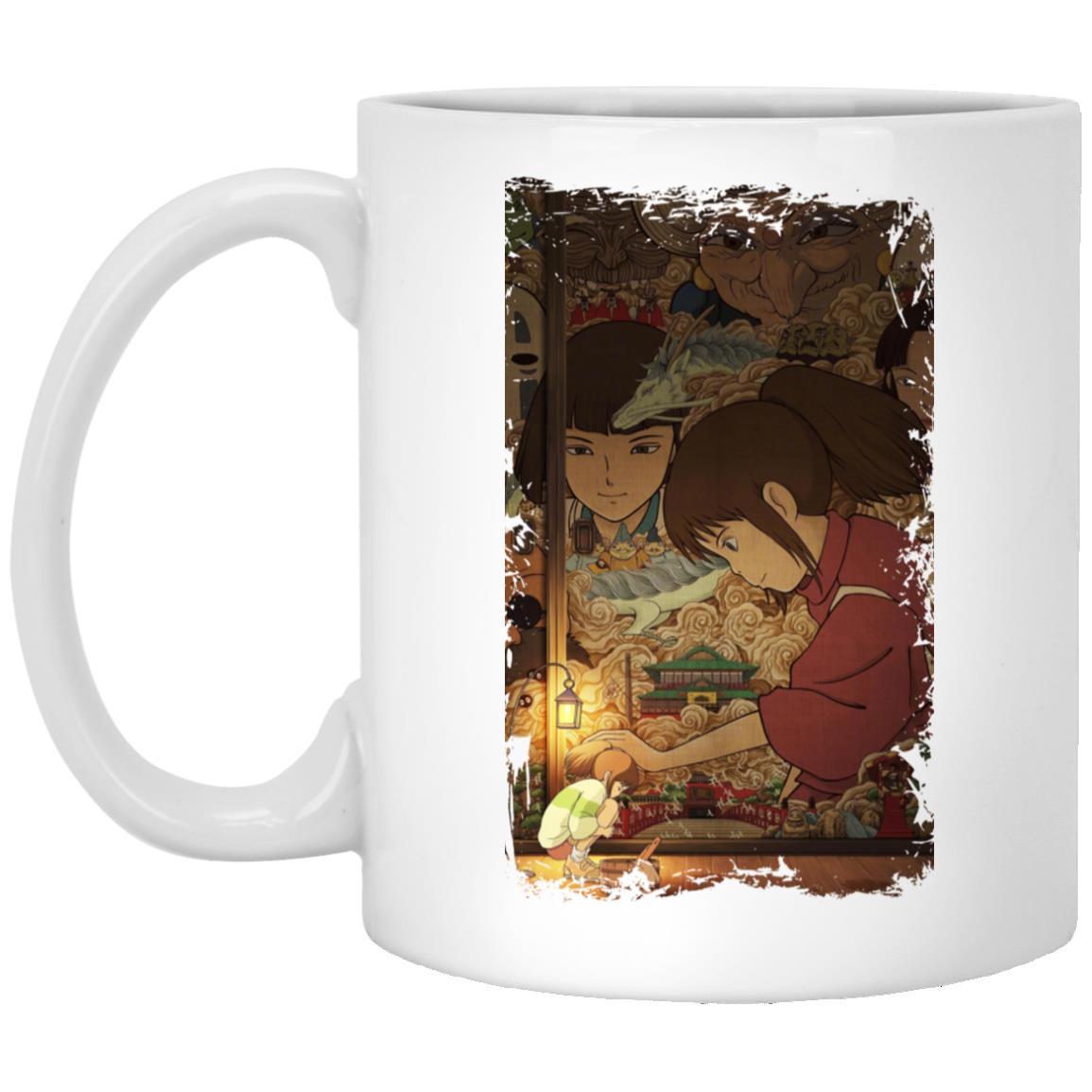 Spirited Away Movie China Poster Mug