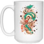 Princess Mononoke on the Dragon Mug 15Oz