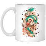 Princess Mononoke on the Dragon Mug 11Oz