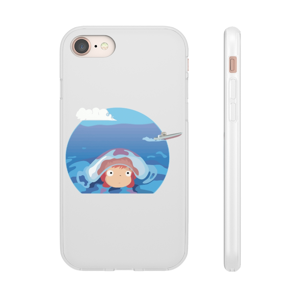 Ponyo in her first trip iPhone Cases