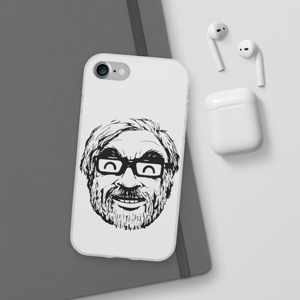 Ghibli Studio – Hayao Miyazaki Portrait iPhone Cases