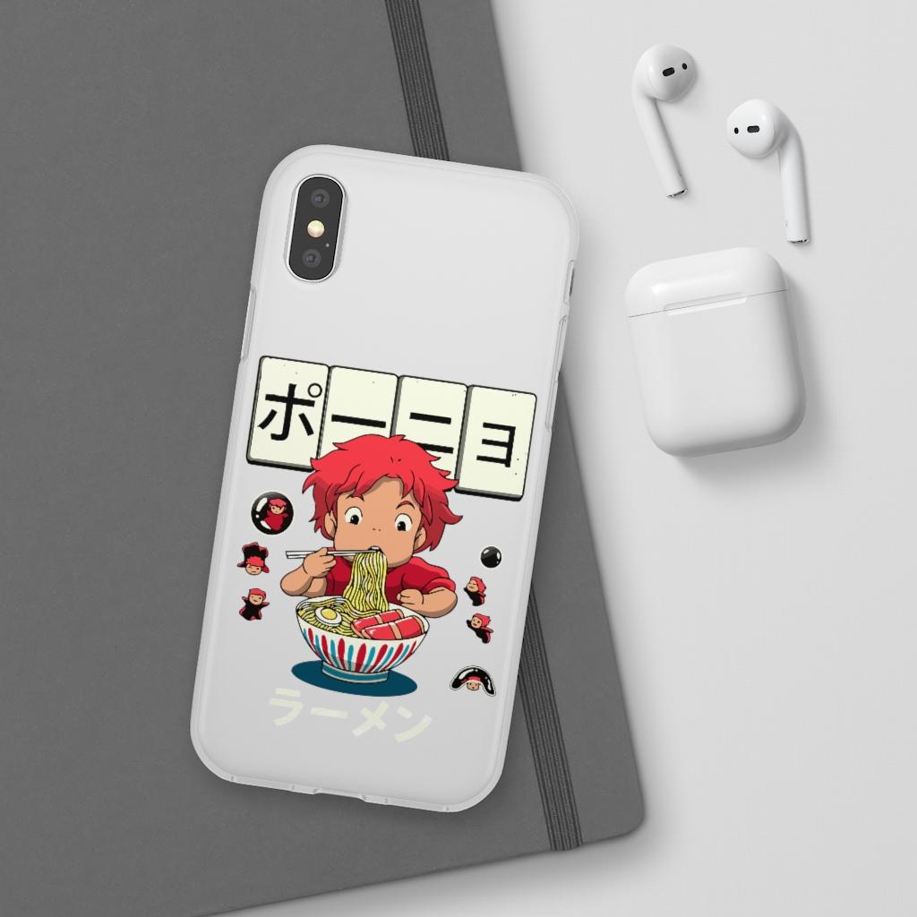 Ponyo very first Ramen iPhone Cases