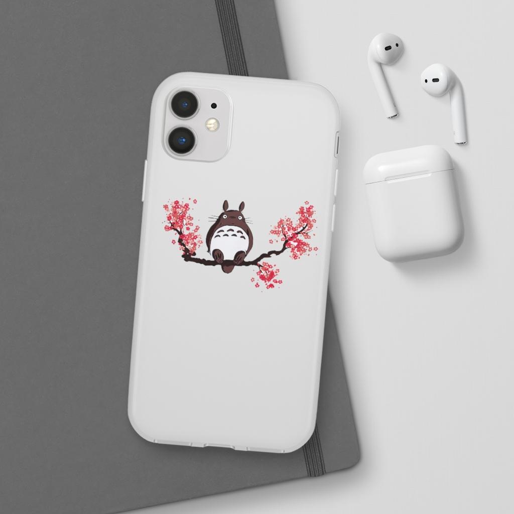 Totoro and Sakura iPhone Cases