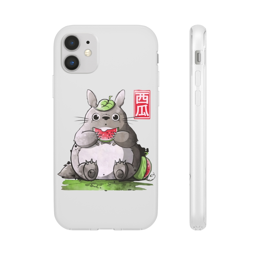 Totoro and Watermelon iPhone Cases