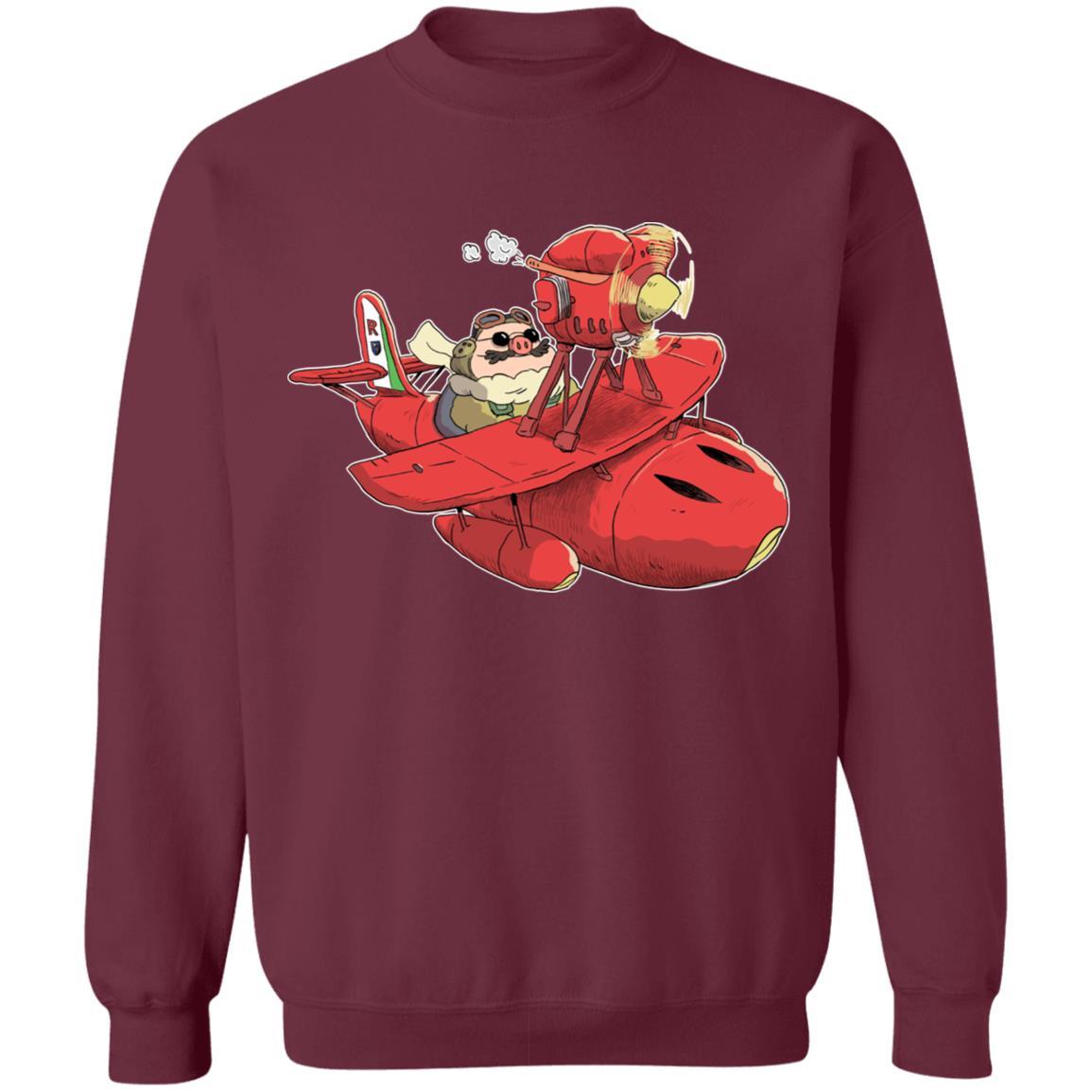 Porco Rosso Chibi Sweatshirt