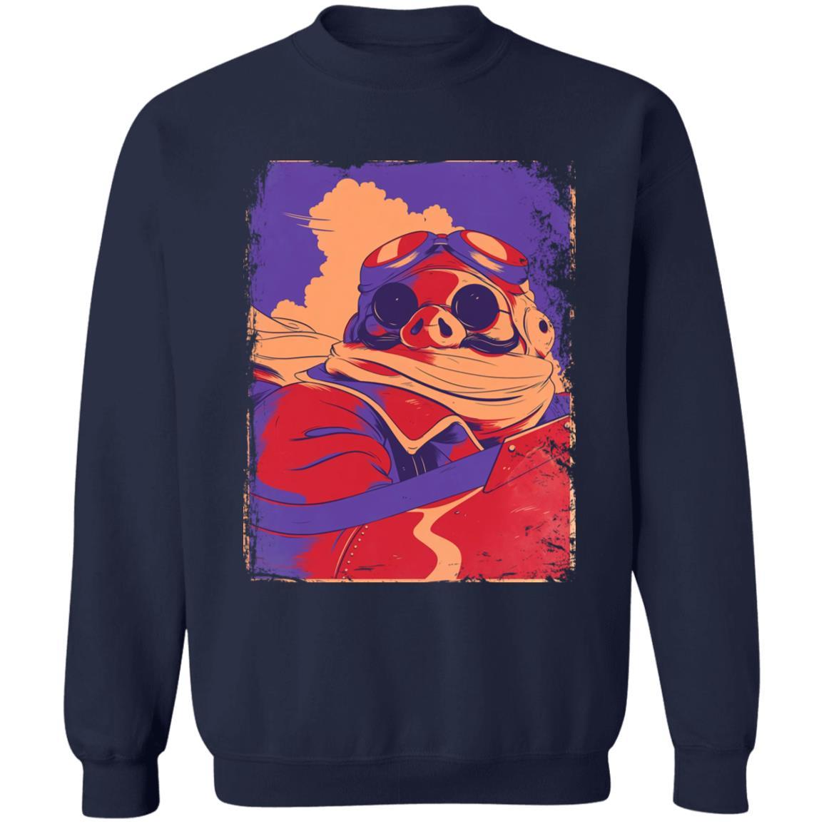 Porco Rosso Retro Sweatshirt