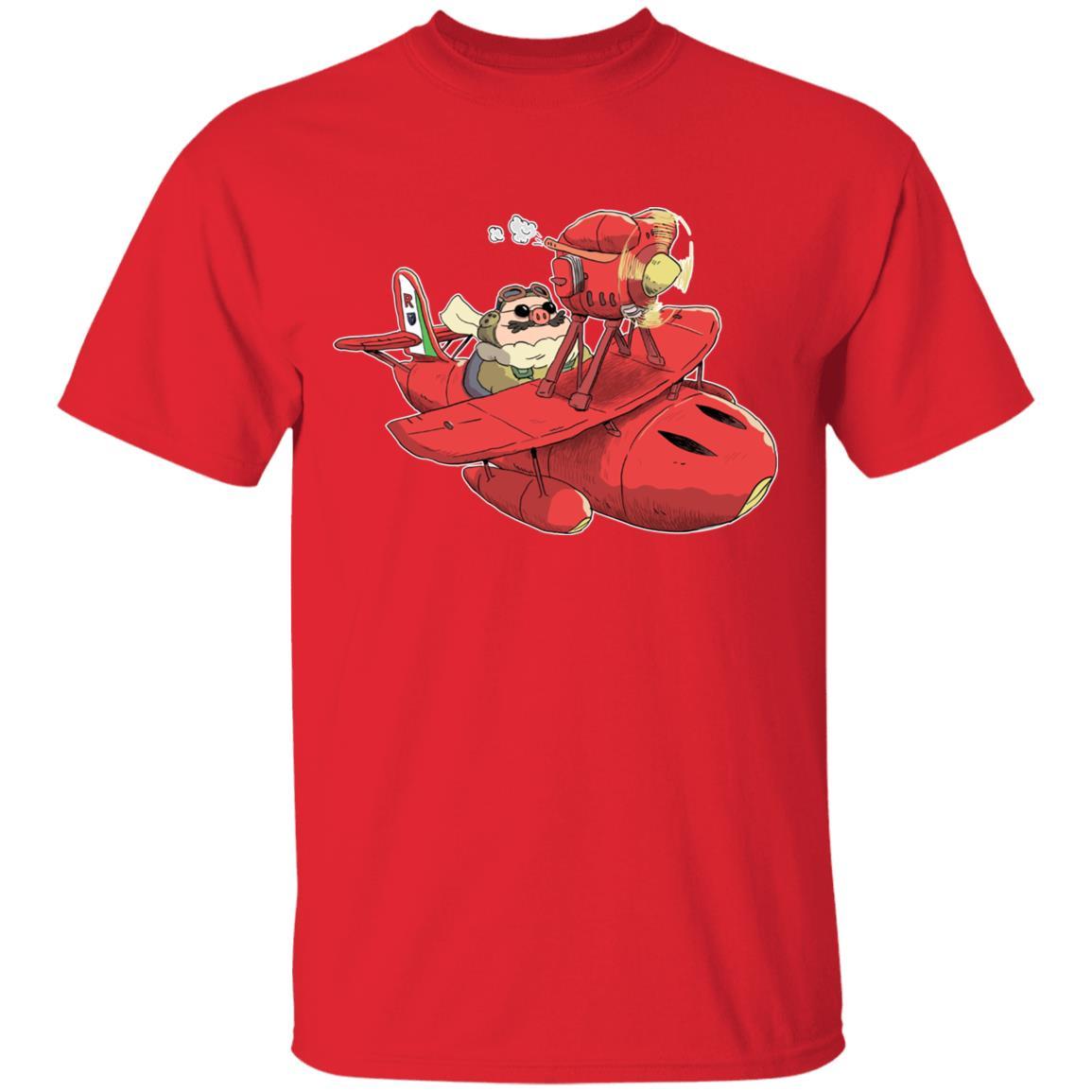 Porco Rosso Chibi T Shirt