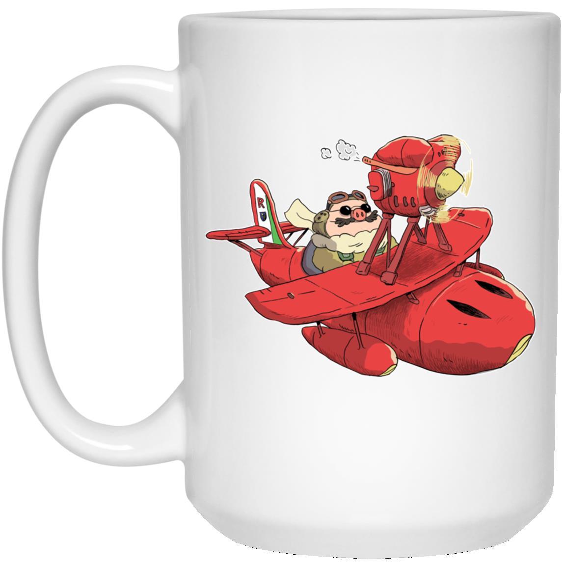 Porco Rosso Chibi Mug