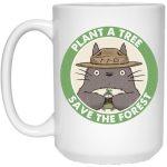 My Neighbor Totoro - Plant a Tree Save the Forest Mug 15Oz