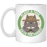 My Neighbor Totoro - Plant a Tree Save the Forest Mug 11Oz