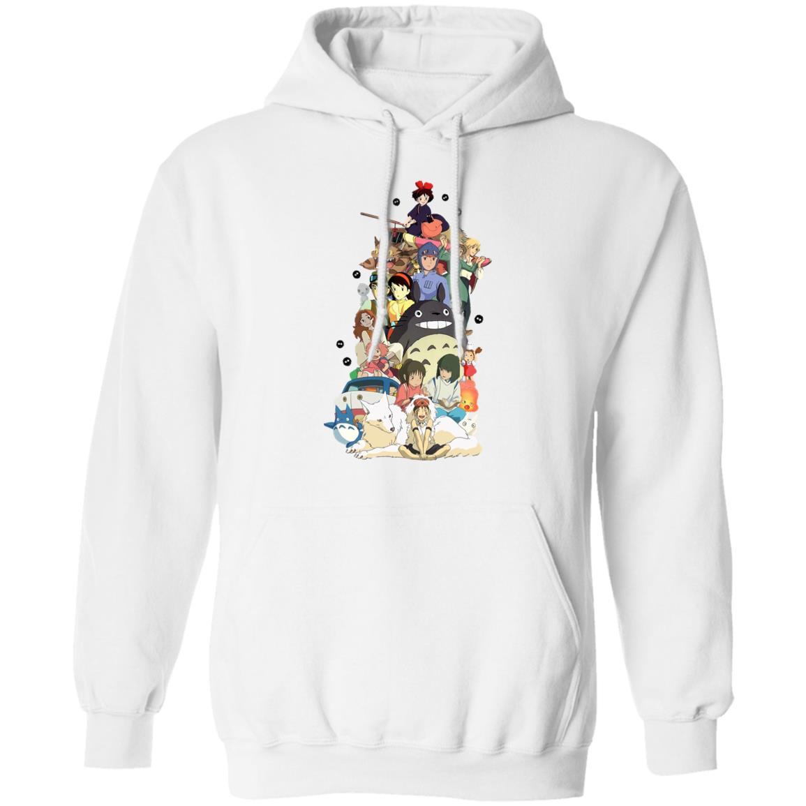 Ghibli Movie Characters Compilation Hoodie