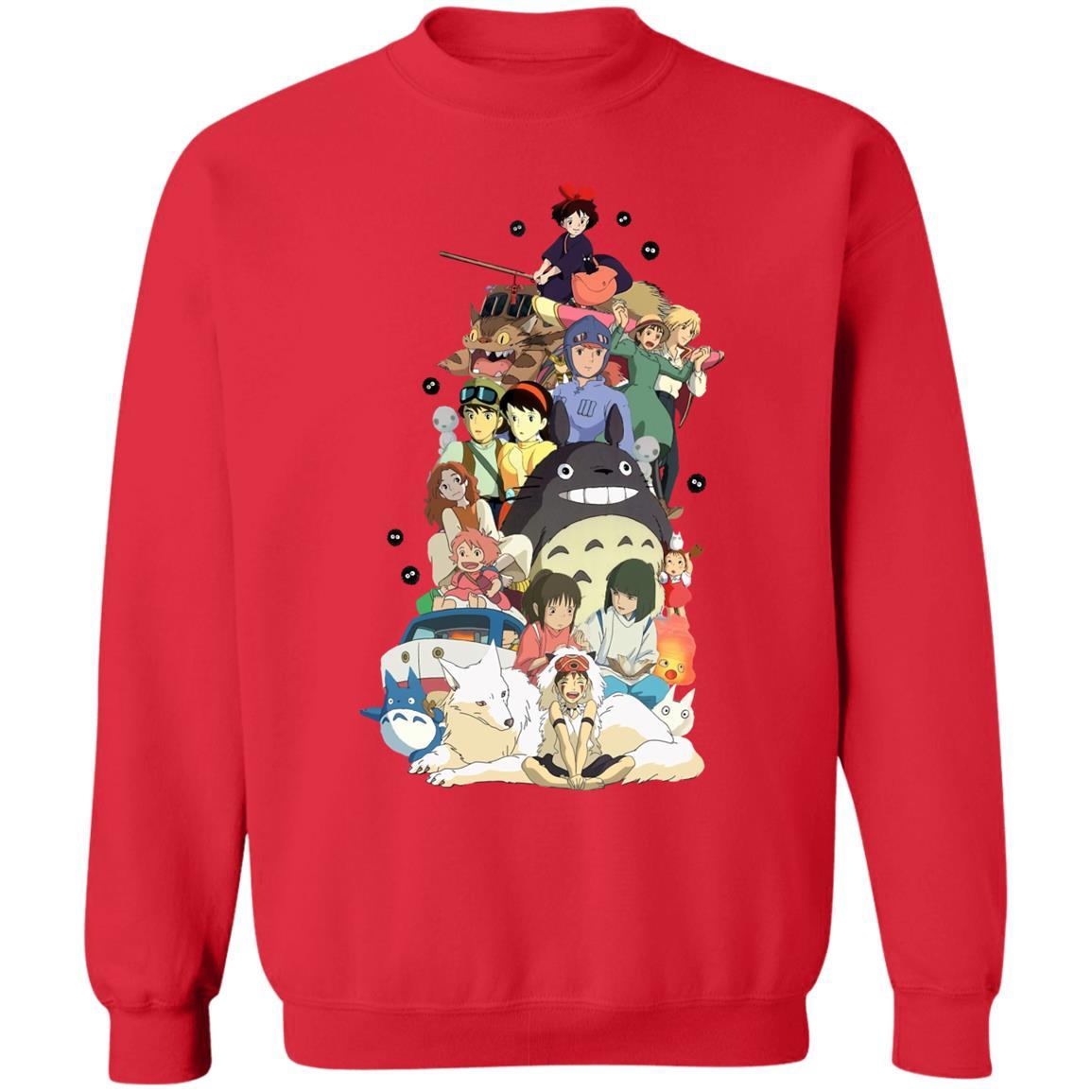 Ghibli Movie Characters Compilation Sweatshirt