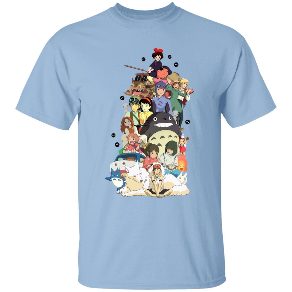 Ghibli Movie Characters Compilation T Shirt