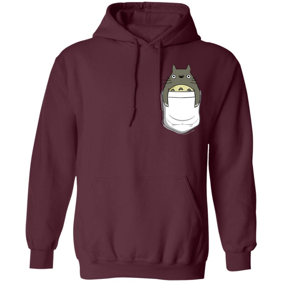 Totoro in Pocket Hoodie