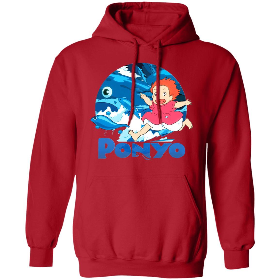 Ghibli Studio Ponyo On The Waves Hoodie Unisex