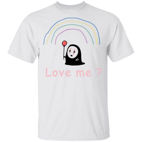 Spirited Away – No Face, Love Me? T Shirt Unisex