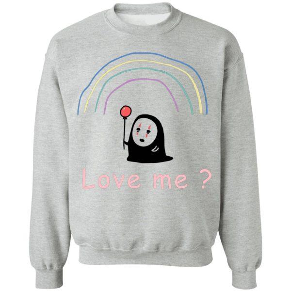 Spirited Away – No Face, Love Me? Sweatshirt Unisex