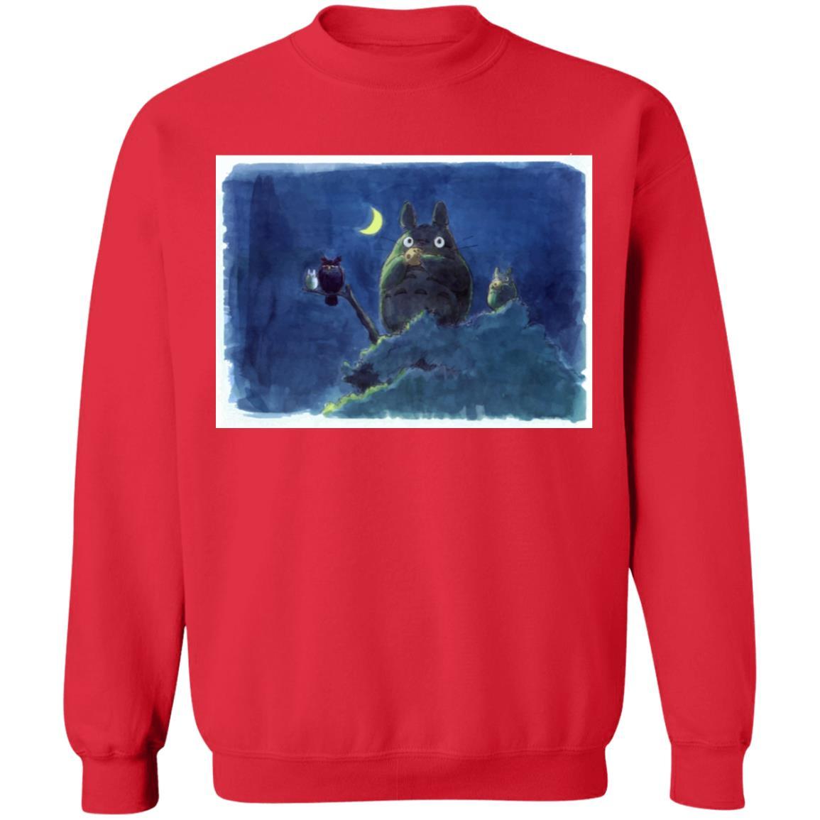 My Neighbor Totoro by the Moon Pastel Art Sweatshirt
