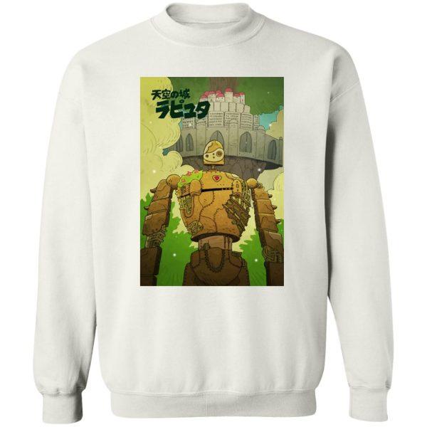 Laputa Castle in the Sky Robot Warrior Sweatshirt