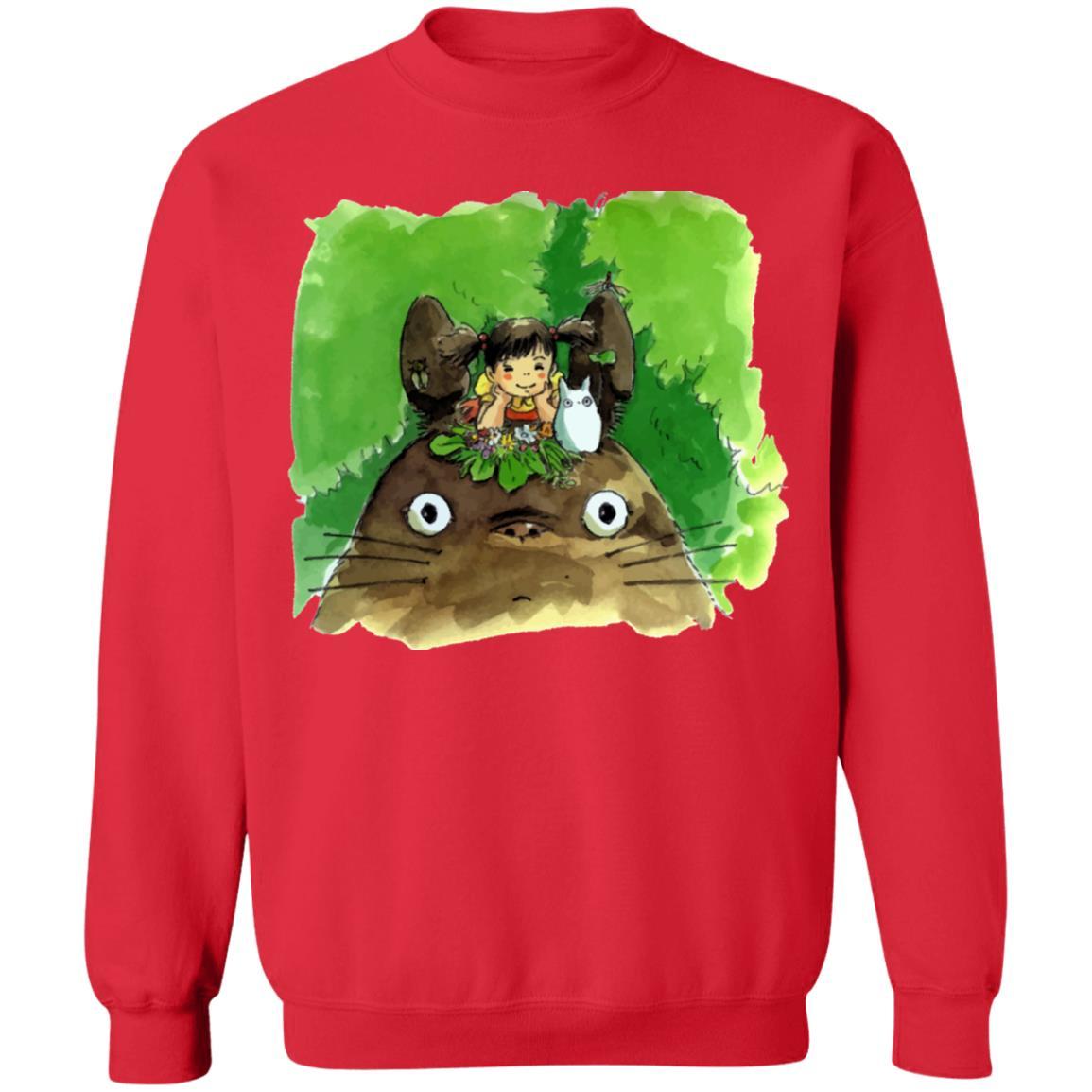My Neighbor Totoro & Mei Water Color Art Sweatshirt