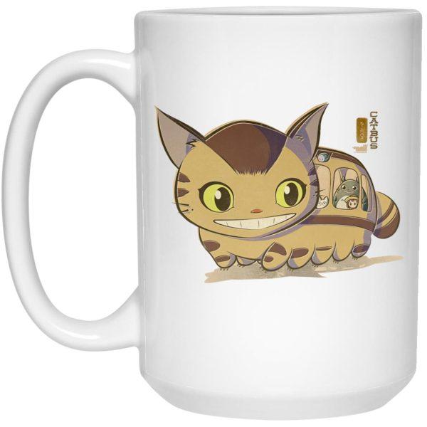 My Neighbor Totoro Catbus Chibi Mug