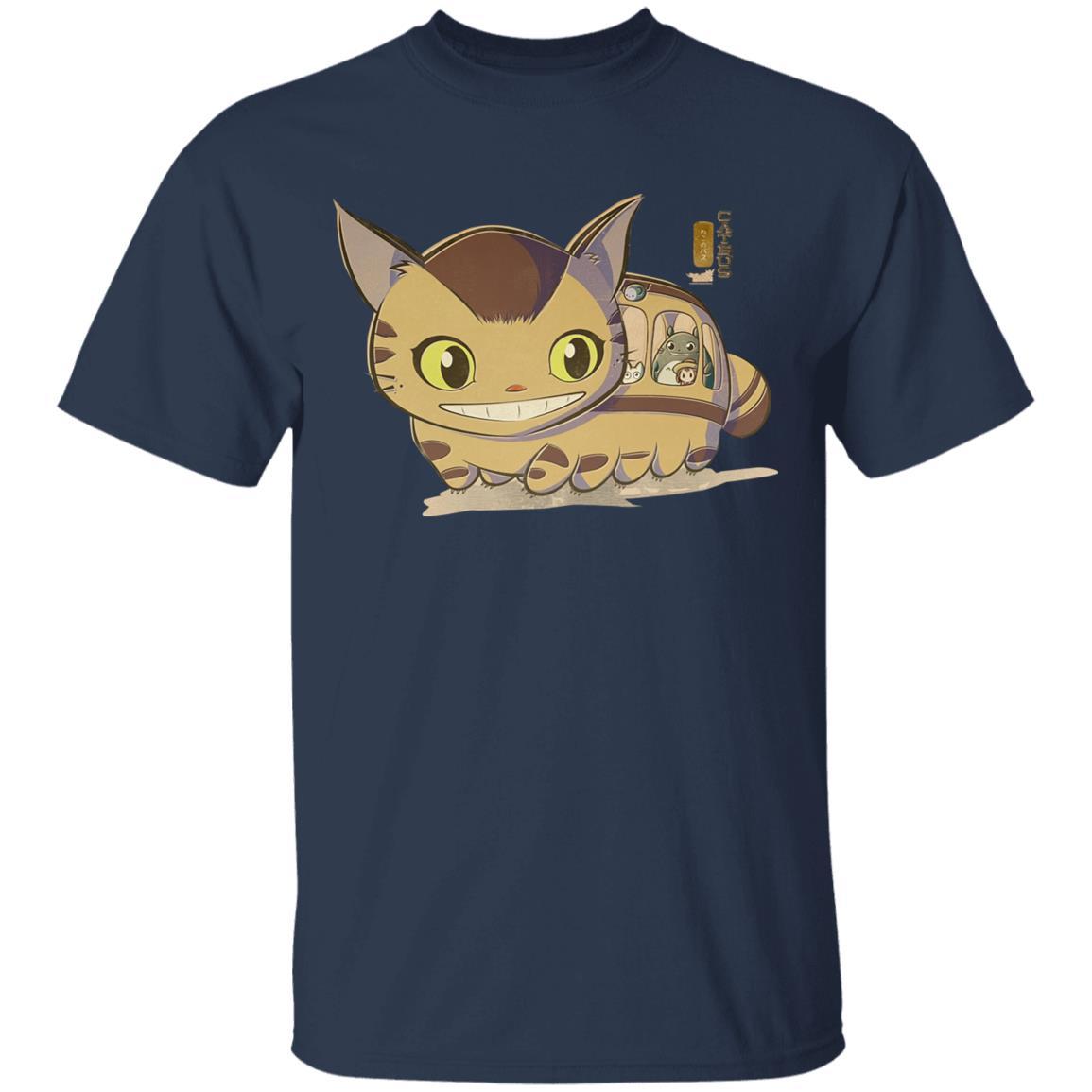 My Neighbor Totoro Catbus Chibi T Shirt