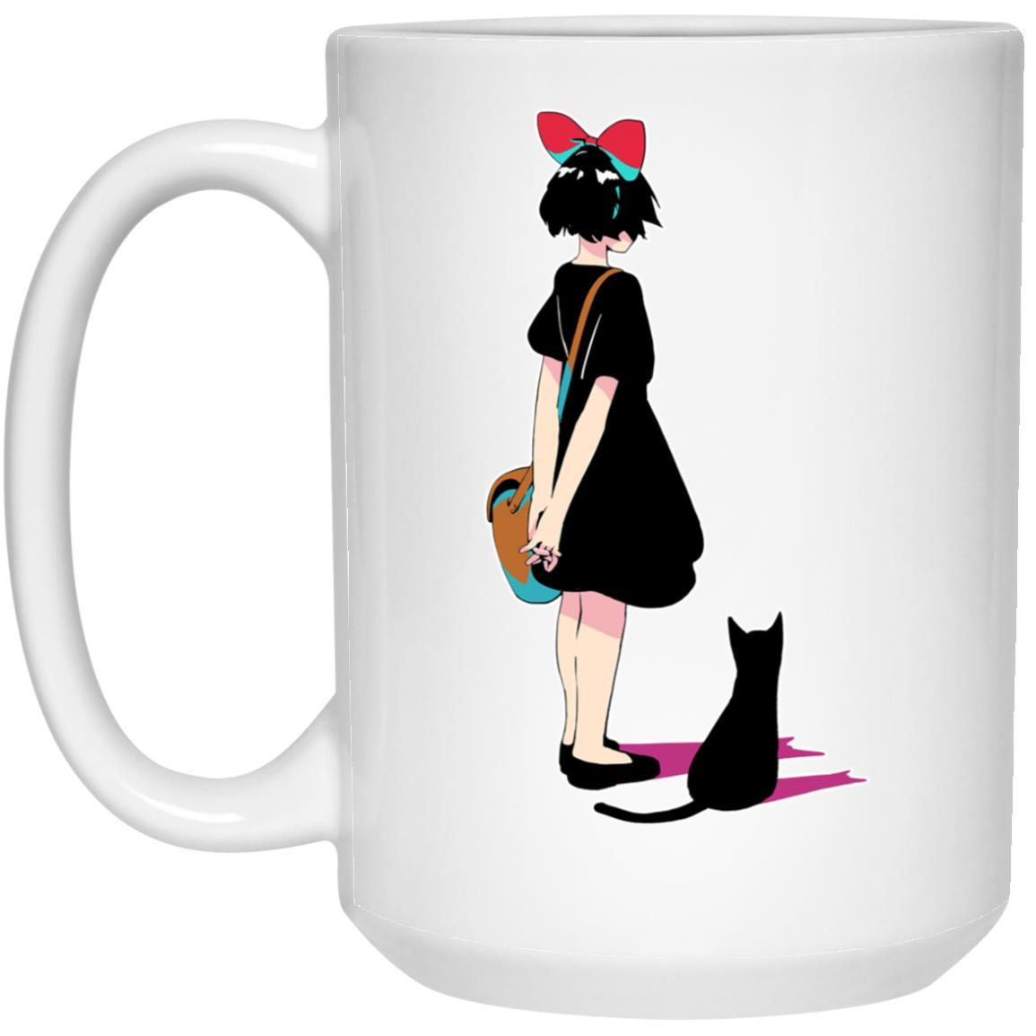 Kiki and Jiji Color Art Mug